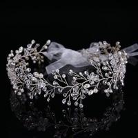 High Quality Tiara Wedding Hair Comb Bridal Hair Accessories Crystal Bouquet Collection Handmade Hair Stick Jewlery