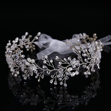 High Quality Tiara Wedding Hair Comb Bridal Hair Accessories Crystal Bouquet Collection Handmade Hair Stick Jewelry CY161117-98