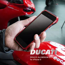 6 6 S DUCATI Ventare HIENDE Motociclismo Aviación Parachoques de Aluminio Del Metal teléfono frame case cubierta de parachoques para iphone 6 6 s 4.7″