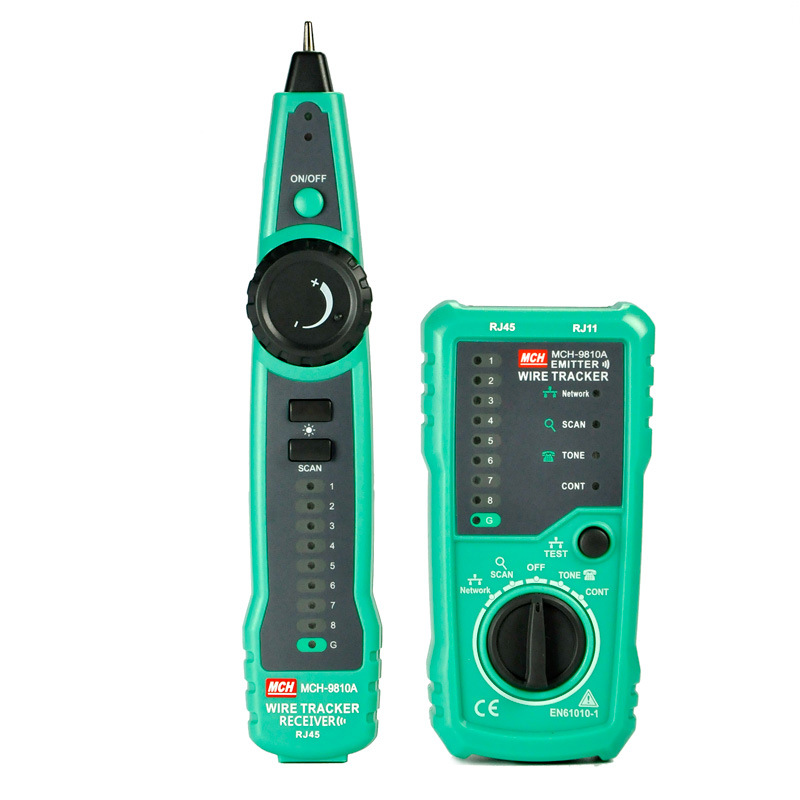 RJ45 Cable Tester Network Lan UTP Tracker Wire Scan Verify Test Telephone Line Finder RJ11 Cat5 Cat6 Wholesale Dropship
