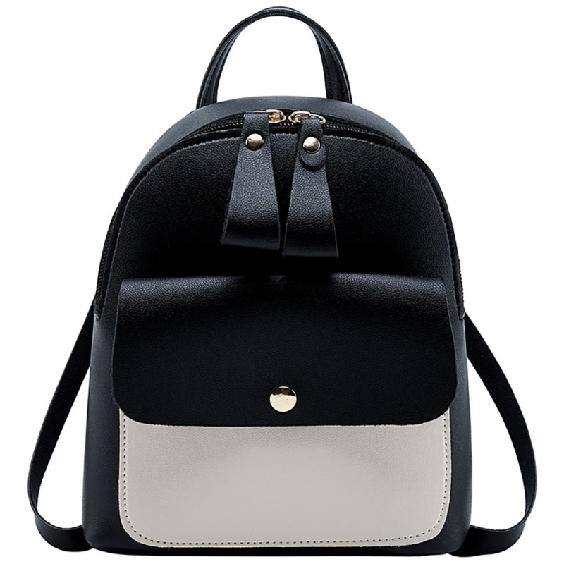 Best Sell Ladies Double Zipper Stitching Color Small Backpack Bag 2019 Fashion New Korean Version Backpacks mochila feminina Best Sell Ladies Double Zipper Stitching Color Small Backpack Bag 2019 Fashion New Korean Version Backpacks mochila feminina