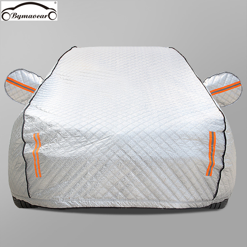 Car Cover Four Seasons Aluminum Film Plus Cotton Padded Car Cover Winter Car Cover Hail /weatherproof/sun/snow Fit