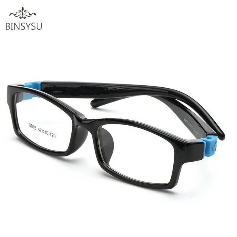 f849502fdd911 Bendable Nenhum Parafuso quadro Crianças óculos de Menino Criança Crianças  armações de óculos TR90 vidros Ópticos