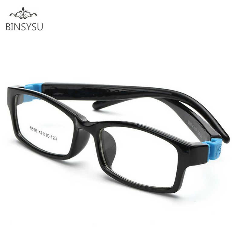 Bendable No Screw Kids frame glasses Boy Child glasses Flexible Children frames eyewear TR90 Optical glasses for 0-10 years old