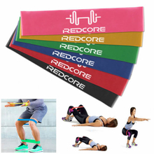 XC Full Set of 6 Resistance Bands 50cm Elastic Exercise Workout Yoga Latex Loop Band Rubber Bands Yoga Pilates Fitness Equipment