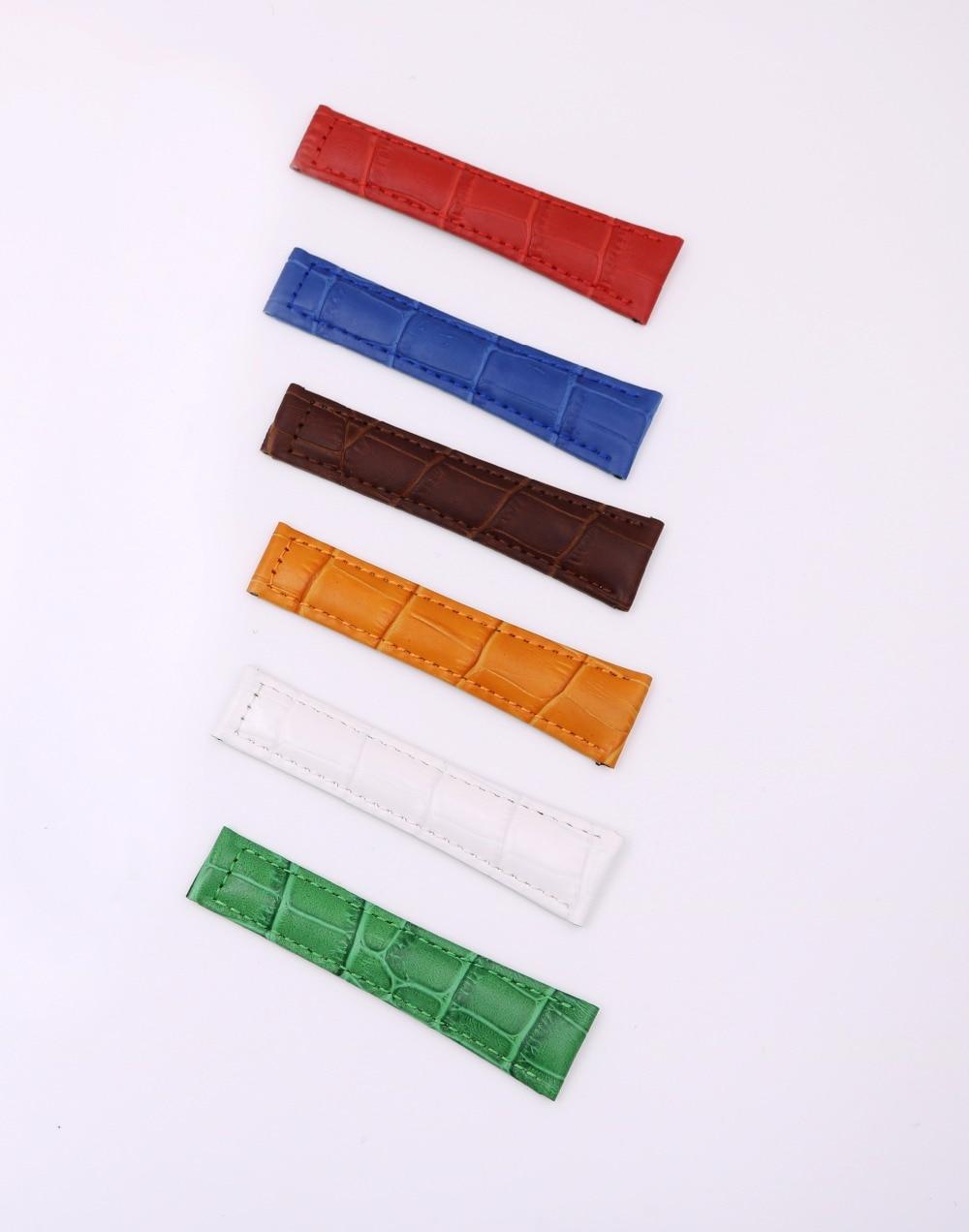 CARLYWET 20mm äkta kalvskinnskinn VINTAGE Lyxig armbandsur - Tillbehör klockor - Foto 2