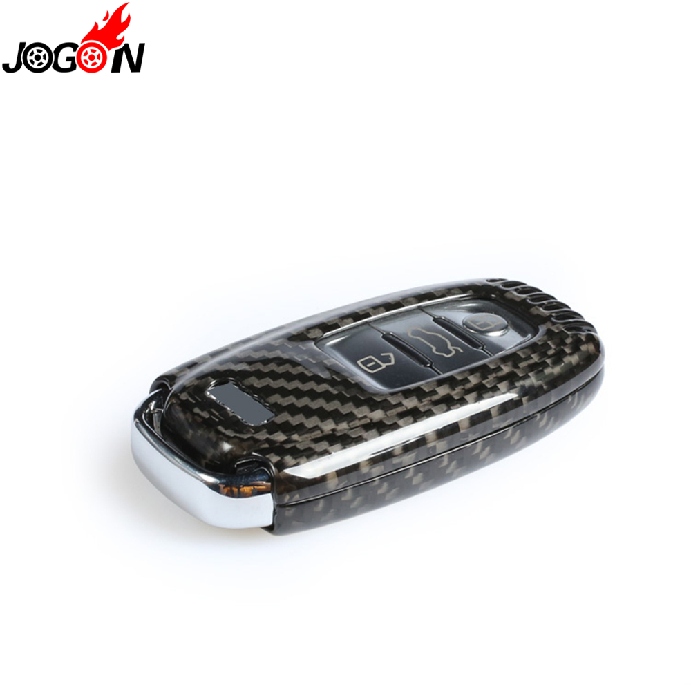 Carbon Fiber Remote Fob Key Case Shell Cover For Audi A4 S4 A5 S5 B8 8K B8.5 A6 S6 C7 A7 S7 4G8 A8 S8 4H Q5 SQ5 8R A8 RS 4 5 6 7-in Key Case for Car from Automobiles & Motorcycles    2