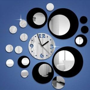 Wall Clocks Stickers Home Deco