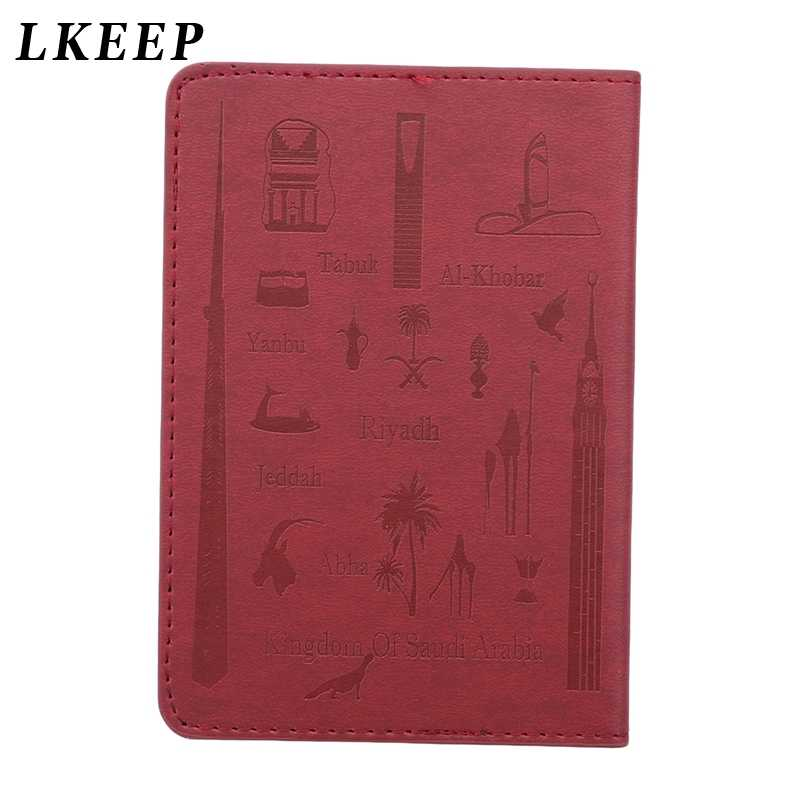 1PC Leather High Quality Brand Embossed Israeli Passport Bag Travel Passport Holder Card Case Passport Cover
