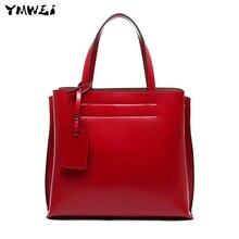The new 2016 temperament female bag European and American fashion single shoulder bag portable compound leather handbag