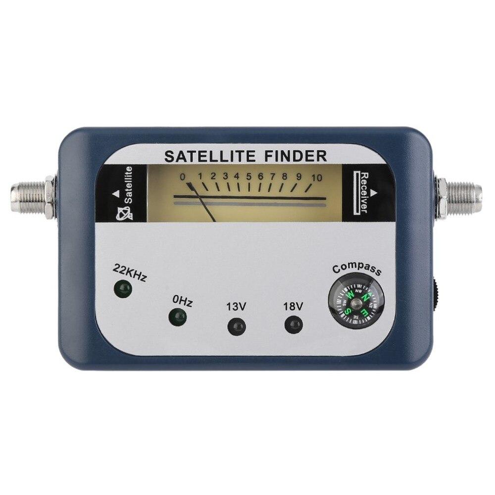 SF-07 Satellite Finder сигнала идентификатор спутниковый ресивер ТВ Приём Системы измеритель силы детектор указатель с компасом
