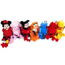 Anti-Lost Backpack Cartoon Animal Plush With Traction Belt Toddler Baby Walking Safety Reins Harness