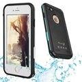 Ultra slim fina ip68 subaquática à prova d' água à prova de choque hard case para iphone 7 plus telefone à prova de vida água capa capinha coque