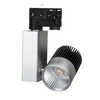 スーパー明るい卸売小売20ワット調光可能なcob ledトラックライトスポット壁ランプスポットライトトラッキングled ac200-240v 10ピース/ロッ
