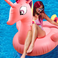 275cm Giant Swimming Pool Float Inflatable Pony Unicorn Pegasus Floaties Inflatable Water Toys Inflatable Mattress Boia Piscina
