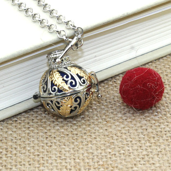Boho Necklace For Women Necklace Aromatherapy Jewelry Essential Oil Diffuser Necklace With Lockets Felt Pat 040219