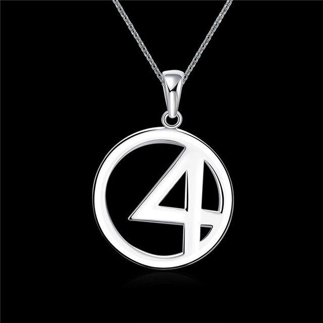 Favorite Fashion silver pendant necklace number 4 Pretty cool biker  NO23