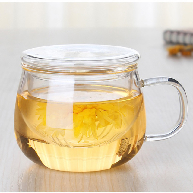 Double Wall Tea Cup with Infuser
