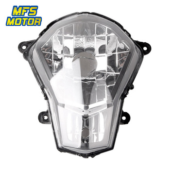 Headlight For KTM 12-15 DUKE 200 125 390 Motorcycle Front Lamp Assembly Upper Headlamp Head Light Housing 2012 2013 2014 2015 image