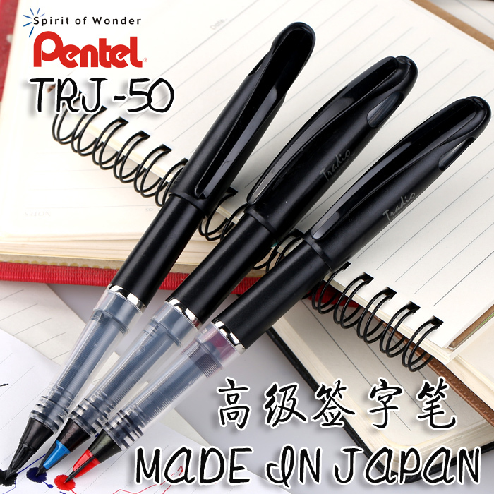 Original Pentel TRJ50 Pen Advanced Felt Tip Pen 0.4mm 0.7mm Black/Red/Blue For Sketch Cartoons Design limit switches scn 1633sc