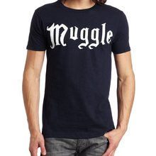 e37bbe0a5 funny men t shirt Hot Sale Muggle print 2019 summer cotton high quality man  short sleeve