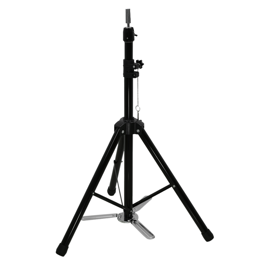 Adjustable Hairdressing Tripod Hair Wig Training Head Mold Holder Stand False Head Stand Hair Wig