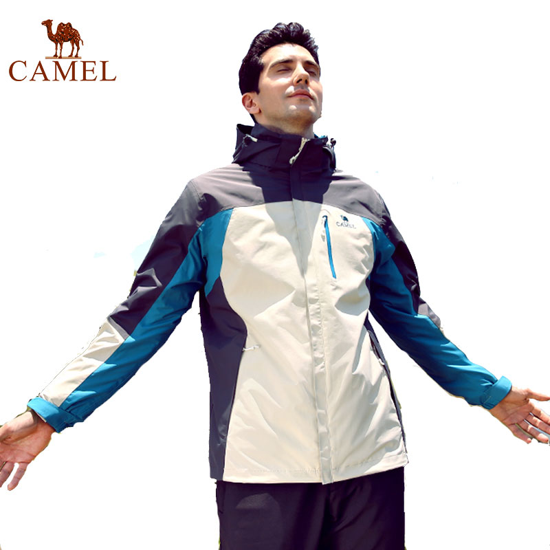 CAMEL Men's winter Thick Winter Inner Fleece Jacket Warm Windproof Waterproof Outdoor Sport Coat Camping Hiking Male Jacket super thick thermal fleece warm man winter jacket waterproof windproof jacket skiing snowboarding climbing hiking camping jacket