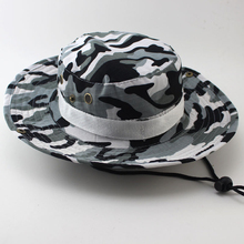 Jungle hunting tactical camouflage cap 2019 new outdoor Adventure Sun protection visor Mountain fishing Bucket Hats Boonie hats
