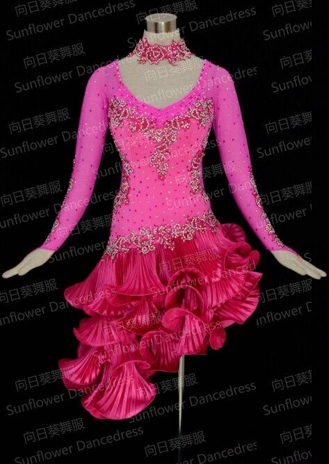 Latin dance font b dress b font ballroom font b dress b font Rumba Jive Chacha