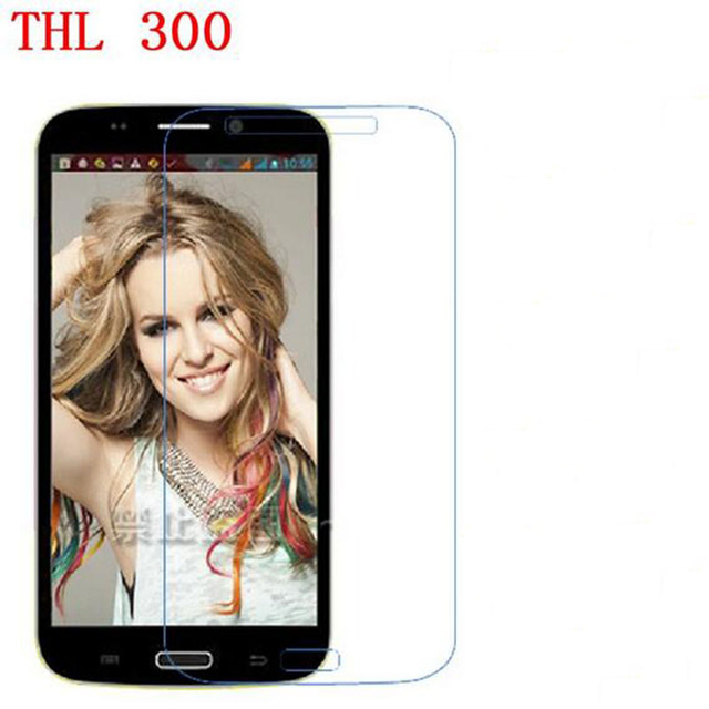ZLYLXL Explosion-proof for THL W300 Protection film touch Screen Protector (Not Tempered Glass) + wipes