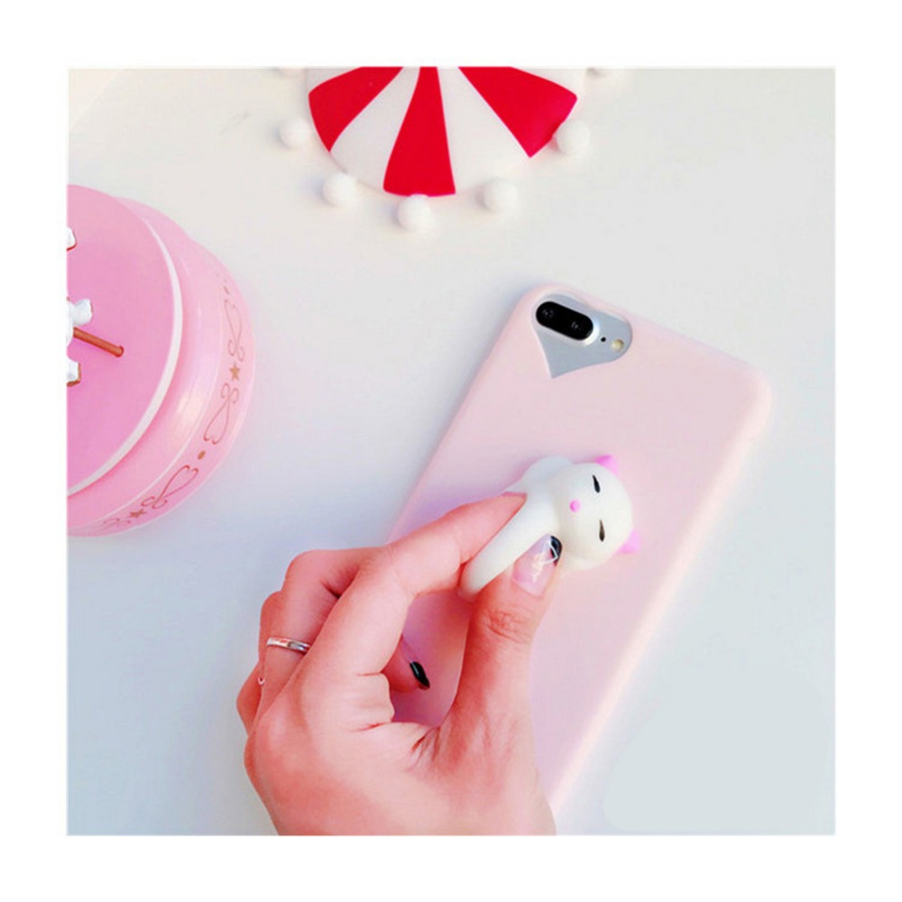Iphone 6 squishy case - Squishy Cases 3d Silicon Cartoon Cute Cat Candy Color For Iphone 5s Se Phone Cases For