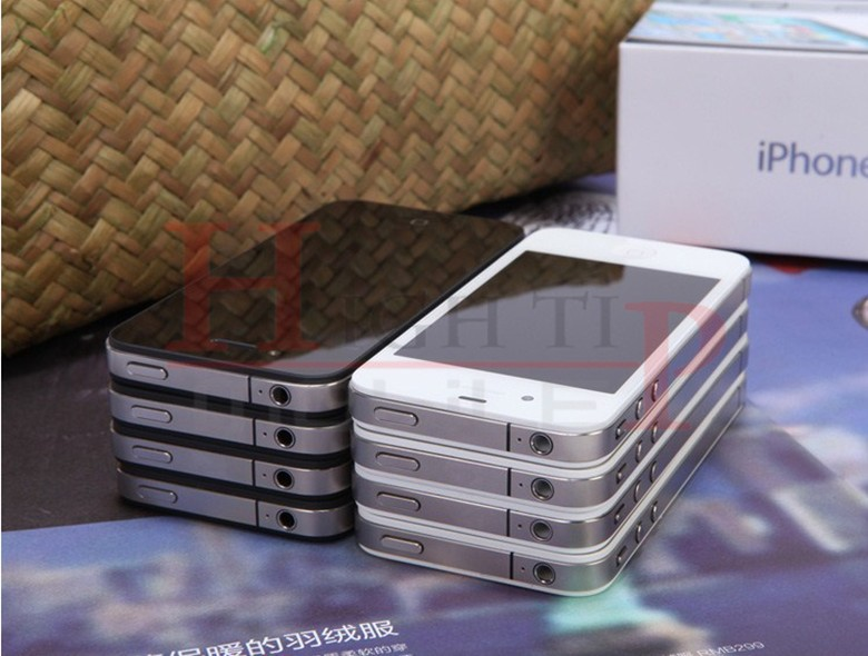 Sealed Apple iPhone 4 iOS 8GB 16GB 32GB ROM 3.5 inches 5MP Camera WIFI GPS Cell Phone 16gb black 3