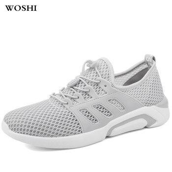 4ddb7857 Zapatos para correr de talla grande con cordones para hombre, zapatos  deportivos para caminar transpirables, Zapatillas para hombre, zapatillas  baratas, ...