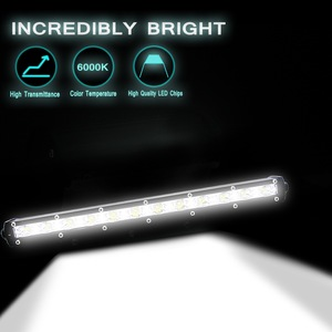 Image 3 - 13 אינץ 36 W Led אור בר משולבת מבול מקום קורה עבודה ערפל פנסי זרקורים 6000 K הותאם  כביש אורות גג אור בר