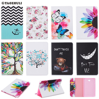 For Samsung GALAXY Tab A 10 1 SM P580 P585 Cover Case Fashion Printed Pattern Design