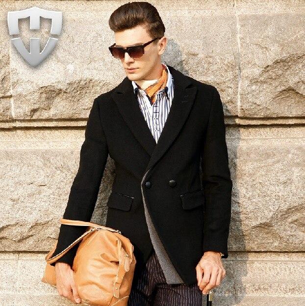 MWAMI High Quality 2015 New Arrivals 100 Wool font b Men b font Casual Winter Autumn