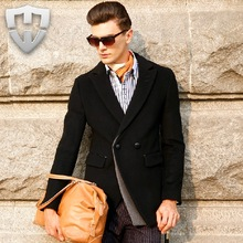 MWAMI High Quality 2015 New Arrivals 100% Wool Men Casual Winter Autumn Warm Super Slim Singe Breasted Full Sleeve Suits Blazers