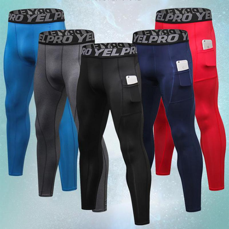 Pants Mens Gym Sport Compression Running Sweat Pants Legging Ropa Deportiva Hombre Xxl Sporting Goods