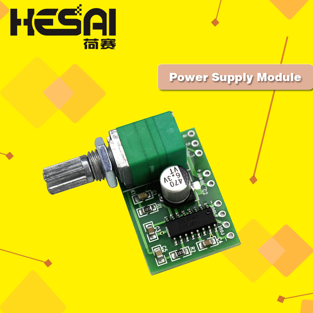 1w Power Amplifier With Electronic Volume Control Based Tda8551
