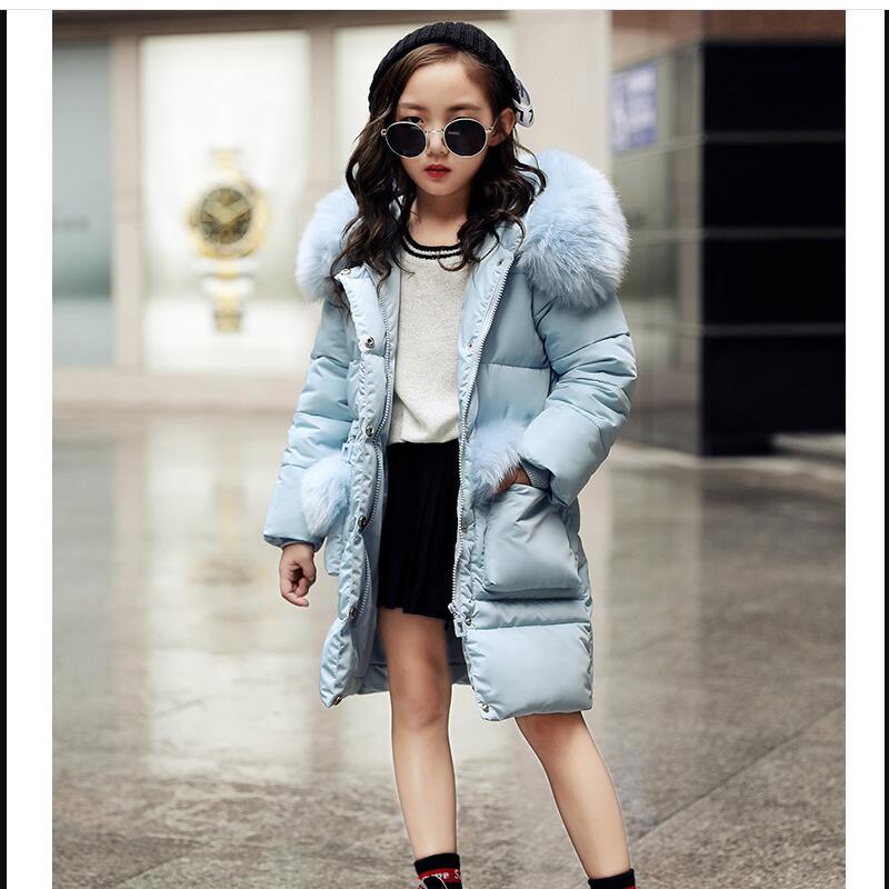 Зимнее Детское пальто; теплый пуховик для маленьких девочек; модная детская верхняя одежда с принтом; Детский Рождественский костюм; платье для девочек