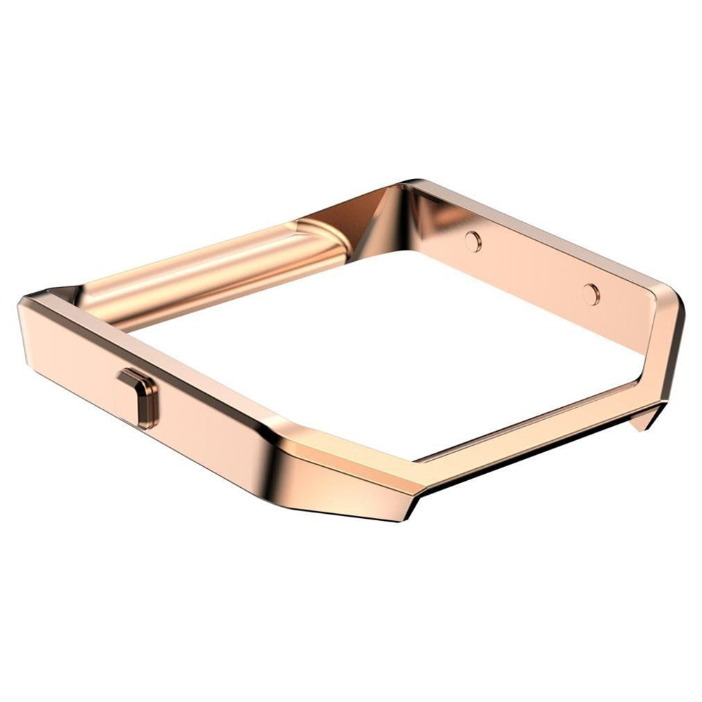 17 Wearable Device Luxury Fashion Stainless Steel Holder Shell Metal Frame For Fitbit Blaze Smart Watch Wristband Accessory 4