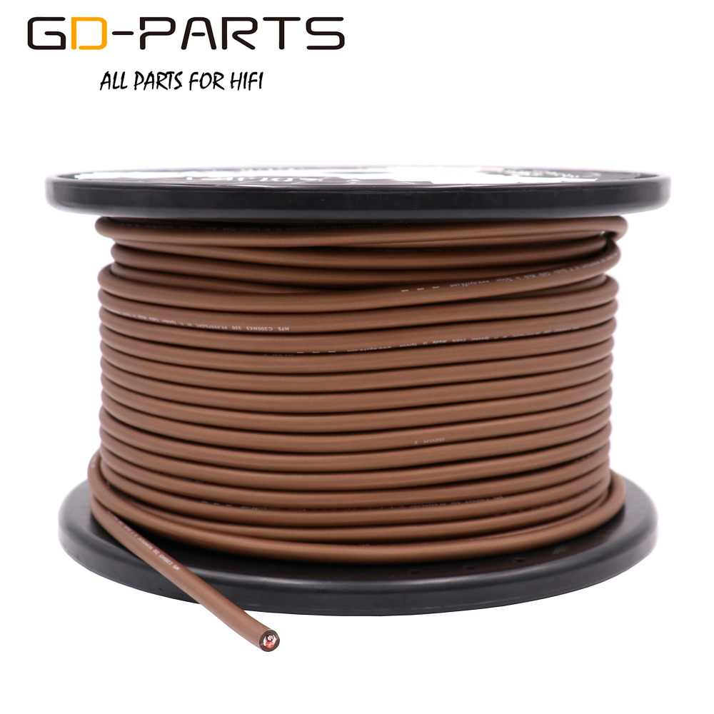 Original MPS C-200MK3 5N OFC Signal RCA Cable 99.9997% Oxygen-Free Copper Speaker Cable Interconnect Line Engineering Wire 15AWG