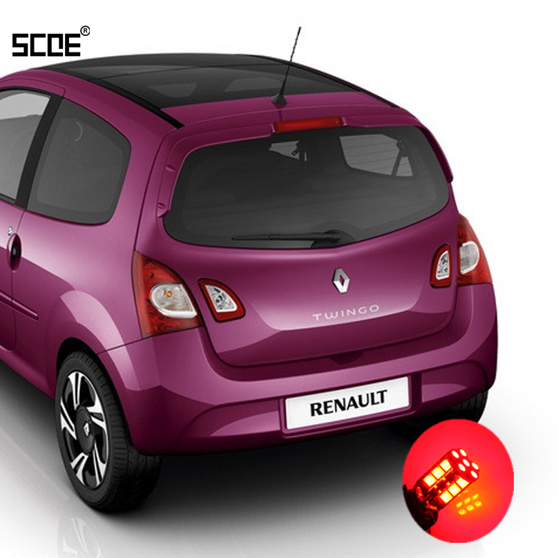 Për Renault Twingo II SCOE 2015 Frena e Ndaluar / Stop / Ndaluar / Parkim i Ri / Llambë bishti / Stilim makine me dritë të re me cilësi të lartë 2X 30SMD