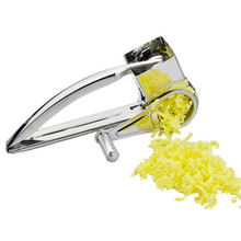 3 Drums Set Rotary Cheese Grater Stainless Steel Slicer Kitchen Butter Nut Chocolate Grinder Tool
