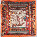 Дешевые полиэстер 90 см имитационные шелковая шарфы