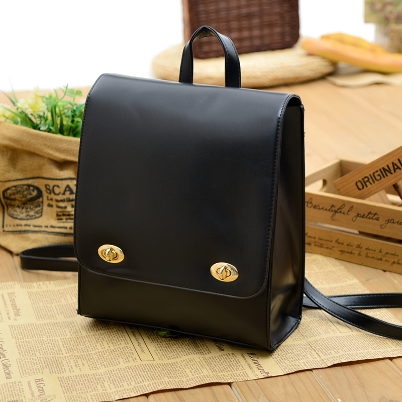 a00c461bb7 Aliexpress.com   Buy Vintage simple Korean Backpack School Campus on junior  high school students female students Backpack Bag wind from Reliable student  ...