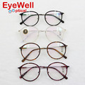 2016 nova Coreia Do projeto retro rodada moda frame ótico para homens e mulheres de alta qualidade unisex óculos mais populares