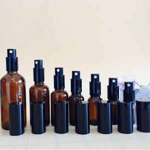 Image 4 - 5ミリリットル/10ミリリットル/15ミリリットル/20ミリリットル/30ミリリットル/50ミリリットル/100ミリリットル詰め替えプレスポンプガラススプレーボトル油液体容器香水アトマイザー旅行20 #