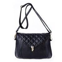 Brand 2017 New Fashion Saddle Women Messenger Bags High Quality Chains Woman Bag Ladies Genuine Leather