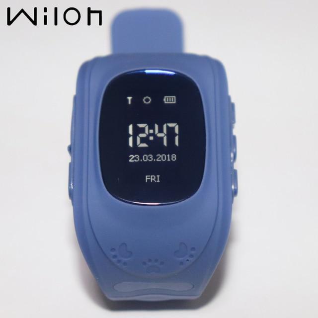 2018 Hot GPS Tracker Watch For Kids Bracelet Wristband SOS Emergency OLED Finder